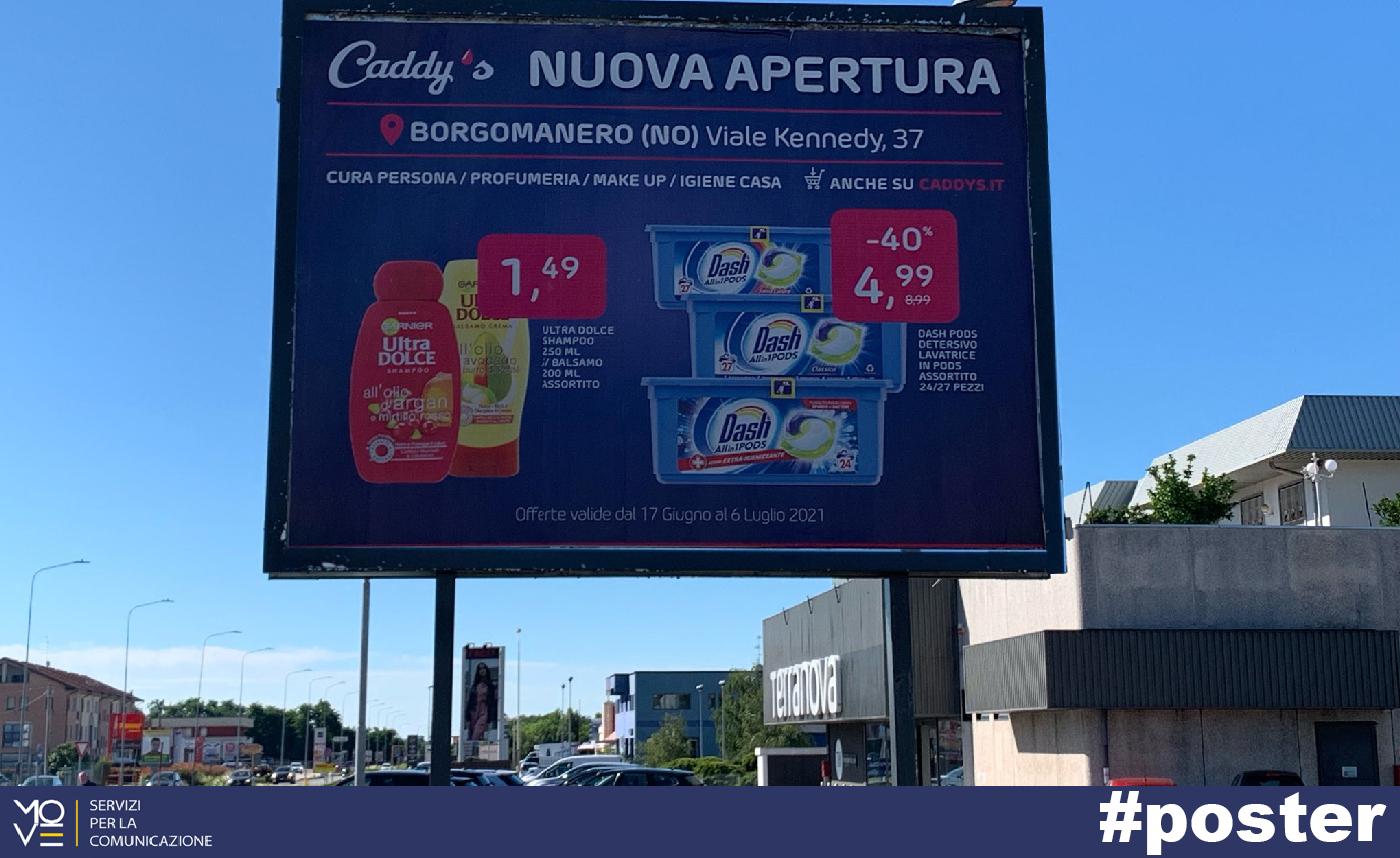 Caddy's a Borgomanero